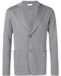 Cruciani - Fine Knit Blazer - Lyst