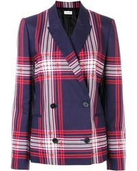 By Malene Birger Blazer doppiopetto a quadri