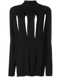 Marques'Almeida - Slashed High-neck Sweater - Lyst