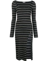 Patrizia Pepe - Knit Fitted Dress - Lyst