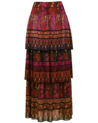Cecilia Prado - Nayara Long Knit Skirt - Lyst