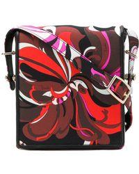 Emilio Pucci - Graphic Print Crossbody Bag - Lyst