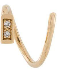 Maria Black - 'ari' Twirl Diamond Earring - Lyst