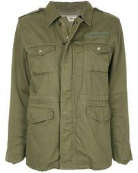 Tu Es Mon Tresor - Embroidered Field Jacket - Lyst