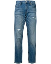 Calvin Klein Jeans - Cropped Slim Jeans - Lyst