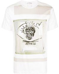 Comme des Garçons - Comme Des Garcons Shirt X Jean-michel Basquiat Print Tee - Lyst