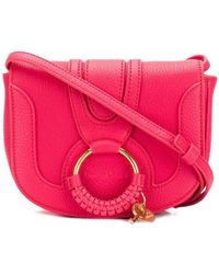 ad2a3c567a0 Lyst - See By Chloé Shoulder Bag in Red