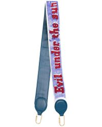 Olympia Le-Tan - Evil Under The Sun Embroidered Strap - Lyst