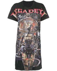 R13 - T-shirt oversize imprimé - Lyst