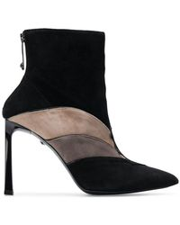Just Cavalli - Panelled Ankle Boots - Lyst