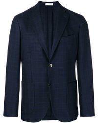 Boglioli - Checked Blazer Jacket - Lyst