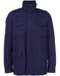 Mp Massimo Piombo - Lapel Pockets Jacket - Lyst