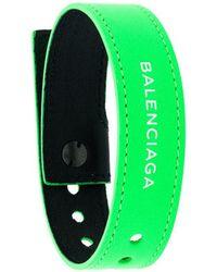 Balenciaga Bracelet à Logo
