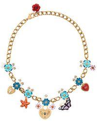 Dolce & Gabbana - Charm Pendant Necklace - Lyst