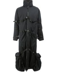 Cottweiler - Strapped High Neck Coat - Lyst