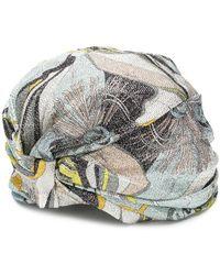 Emilio Pucci - Celeste Frida Print Turban Headband - Lyst