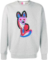Maison Kitsuné - Acide Fox Sweatshirt - Lyst