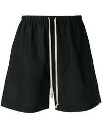 Rick Owens - Basic Track Shorts - Lyst