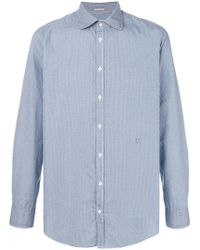 Massimo Alba - Gingham Shirt - Lyst