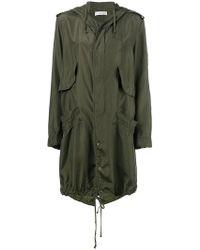 Faith Connexion - Hooded Raincoat - Lyst