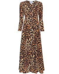 We Are Leone - Leopard Print Silk Jacket - Lyst