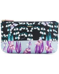 Furla - Printed Cosmetic Case - Lyst