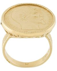 Wouters & Hendrix | Coin Ring | Lyst