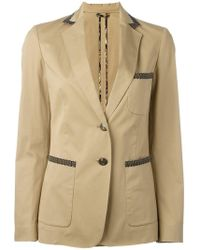 Etro - Button Up Blazer - Lyst
