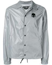 d22d156de8a41 Hydrogen - Chest Logo Shirt Jacket - Lyst