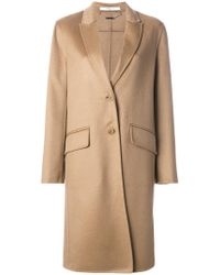 Givenchy - Single-breasted Coat - Lyst