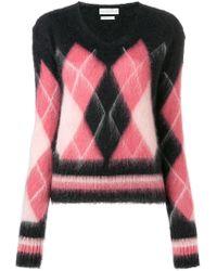Ballantyne - Diamond Knit Jumper - Lyst