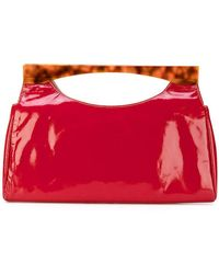 Tommy Hilfiger | Two Tone Bar Handle Tote | Lyst