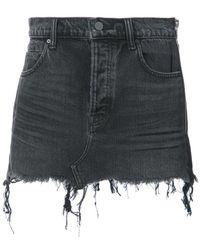 Alexander Wang - Asymmetric Short Skirt - Lyst