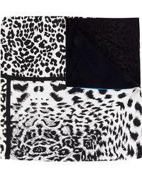 Pierre Louis Mascia - Panelled Leopard Print Scarf - Lyst