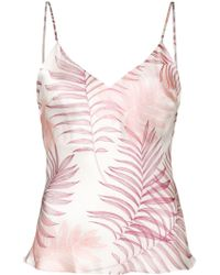 Gilda & Pearl Spaghetti Strapped Fitted Top