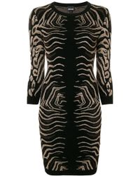 Just Cavalli - Animal Print Dress - Lyst