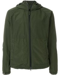 Aspesi - Hooded Zipped Jacket - Lyst