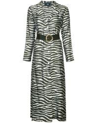 Taller Marmo - Zebra Print Dress - Lyst