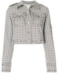 Sonia Rykiel - Checked Cropped Jacket - Lyst