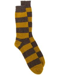Howlin' By Morrison - Striped Knitted Socks - Lyst