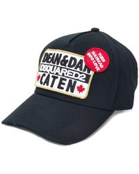 DSquared² - Caten Baseball Cap - Lyst