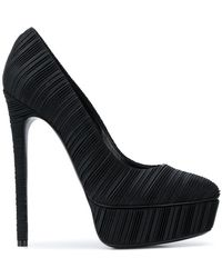 Casadei - Micro Pleated Pumps - Lyst