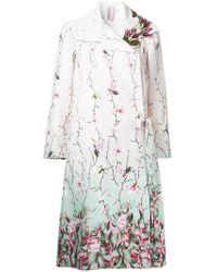 Antonio Marras - Floral Printed Coat - Lyst