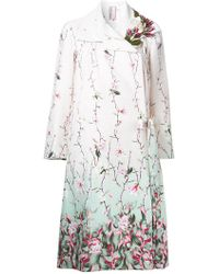 Antonio Marras - Floral Printed Coat - Lyst