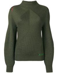 Carven - Strukturierter Pullover - Lyst