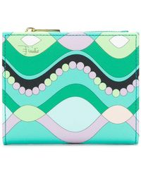 Emilio Pucci - Printed Bifold Wallet - Lyst