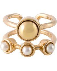 Eshvi - 'astro' Midi Ring - Lyst