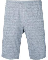 Loveless - Striped Pocket Shorts - Lyst