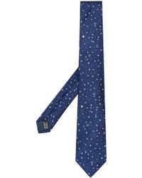 Lanvin - Corbata con motivo de estrellas - Lyst