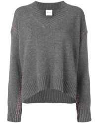 Paul Smith Black Label - Stitching Detail Jumper - Lyst